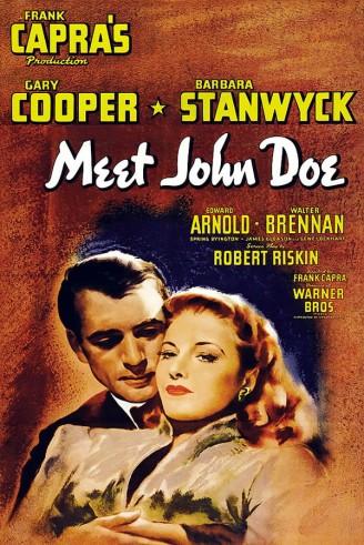 Poster Meet John Doe