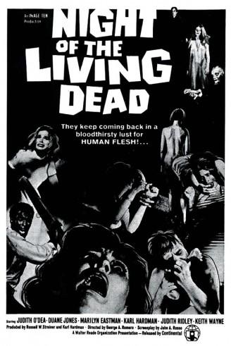poster noche de los muertos